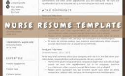 009 Stirring Nurse Resume Template Word Highest Clarity  Cv Free Download Rn