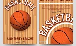 009 Striking Basketball Flyer Template Free Image  Camp Brochure 3 On Tournament