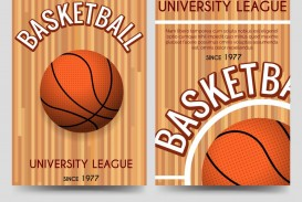 009 Striking Basketball Flyer Template Free Image  Brochure Tryout Camp