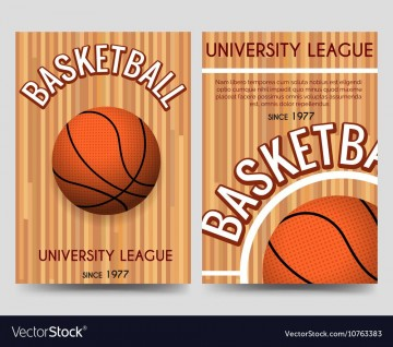 009 Striking Basketball Flyer Template Free Image  Brochure Tryout Camp360
