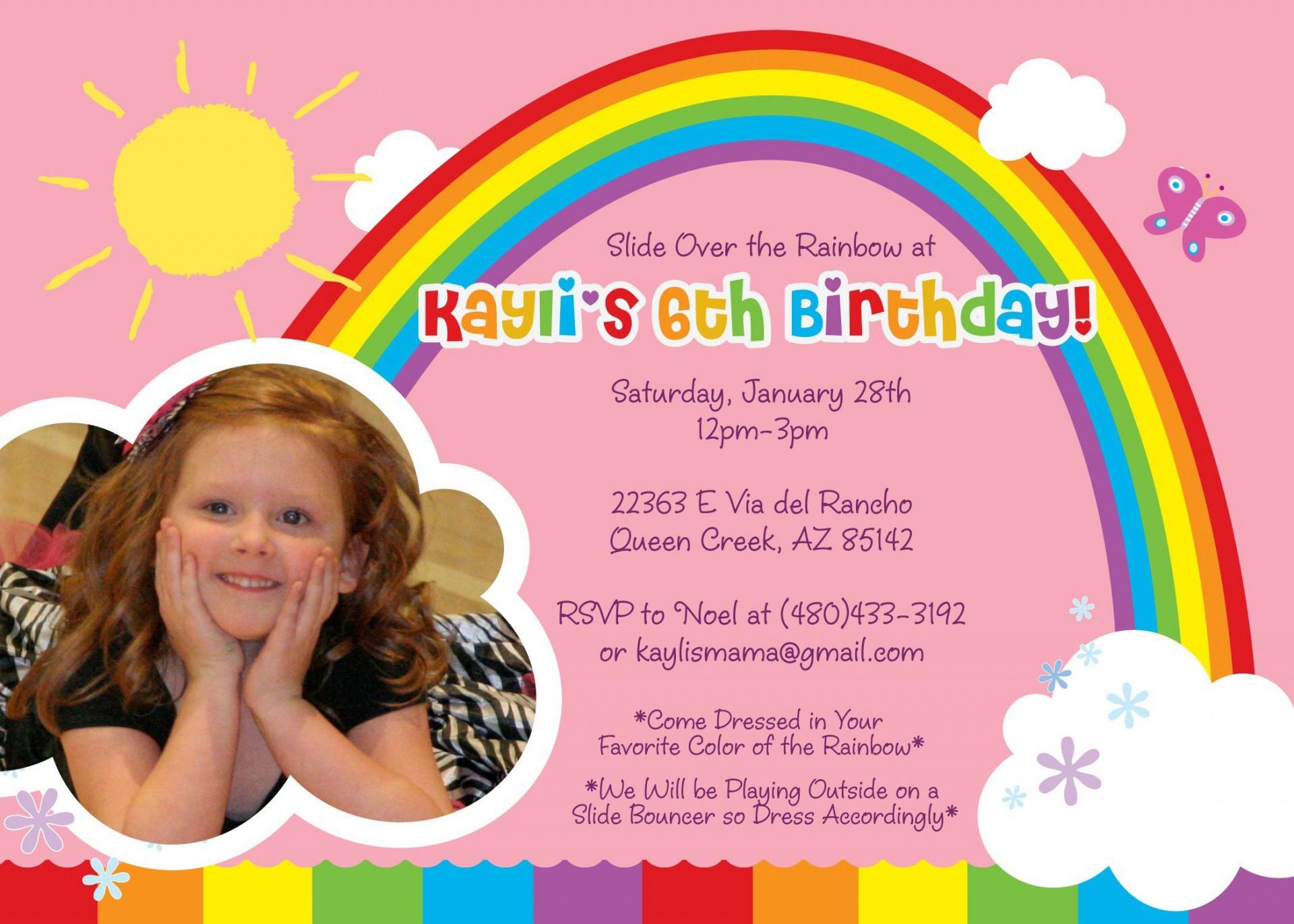 009 Striking Birthday Party Invitation Template Word Photo  40th Wording Sample Unicorn Free1920