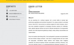 009 Striking Download Cv And Cover Letter Template Picture  Templates