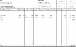 009 Striking Free Excel Invoice Template Gst India Highest Clarity