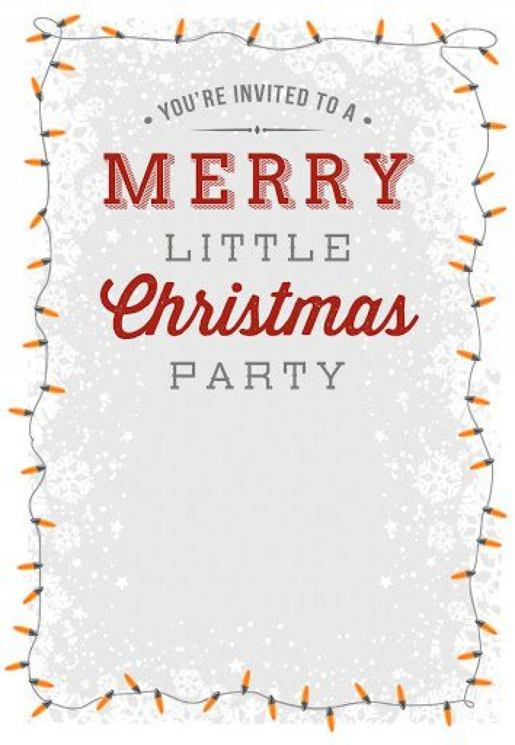 009 Striking Free Holiday Invitation Template Example  Online Party ChristmaLarge