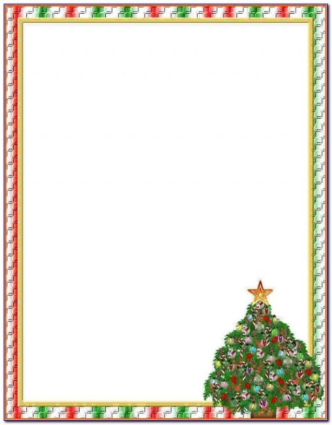 009 Striking Free Holiday Stationery Template For Word High Definition 480