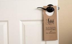 009 Striking Free Printable Door Hanger Template High Def  Templates Wedding Editable