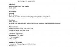009 Striking Free Sample High School Resume Template Photo