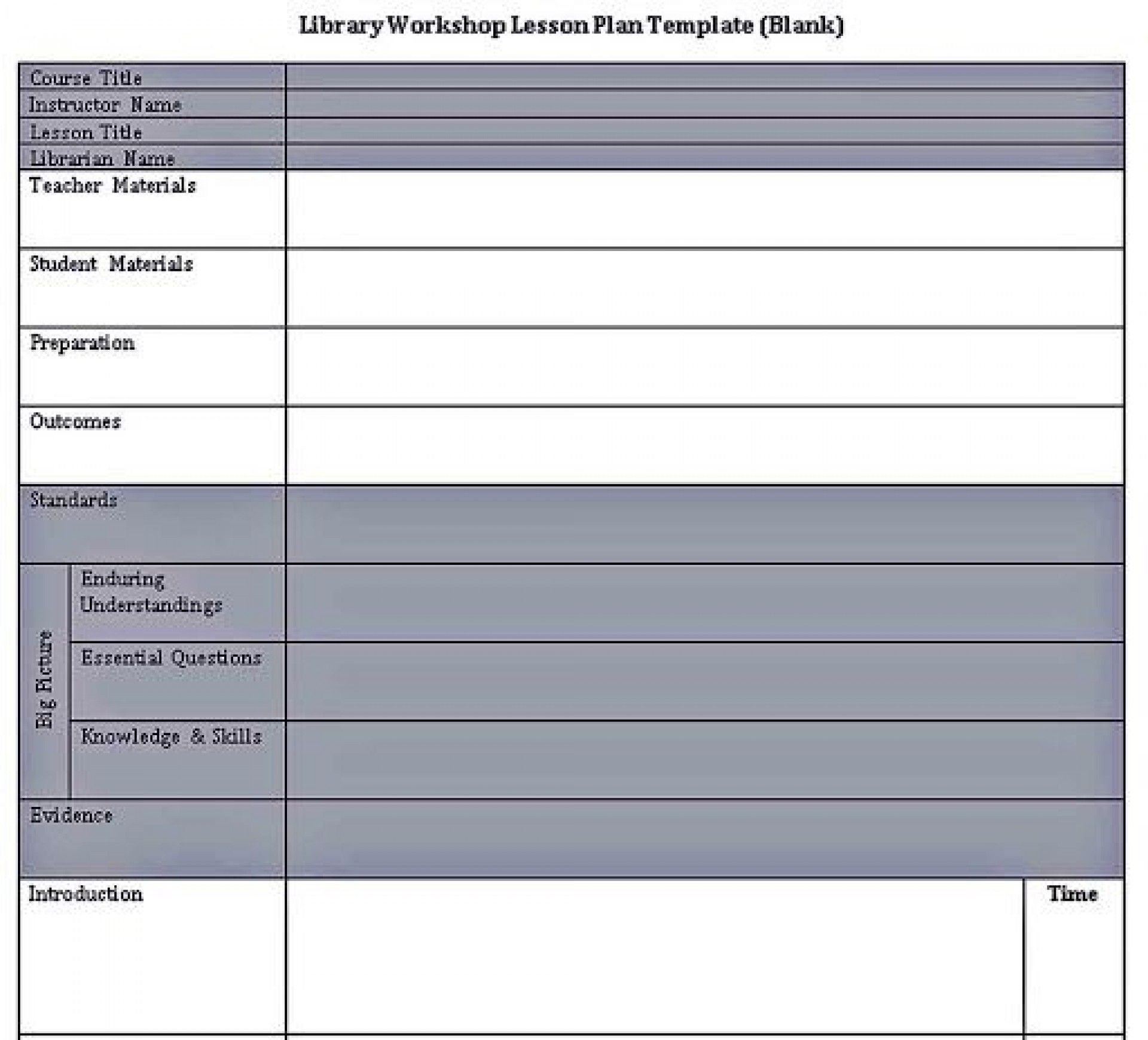 009 Striking Lesson Plan Format Word Doc Example  Outline Template1920