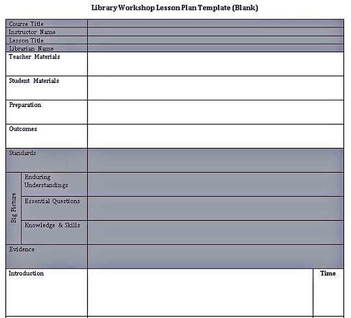 009 Striking Lesson Plan Format Word Doc Example  Outline TemplateFull