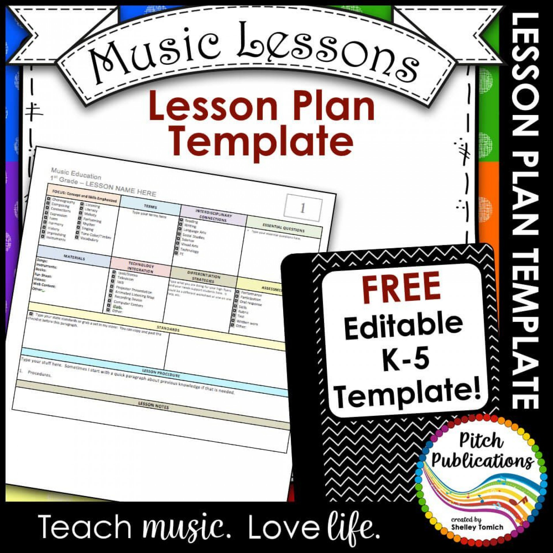009 Striking Lesson Plan Template Free Highest Quality  Weekly Printable Editable Preschool Format1920