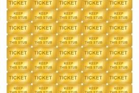 009 Striking Microsoft Word Raffle Ticket Template Design  2007 2010 8 Per Page
