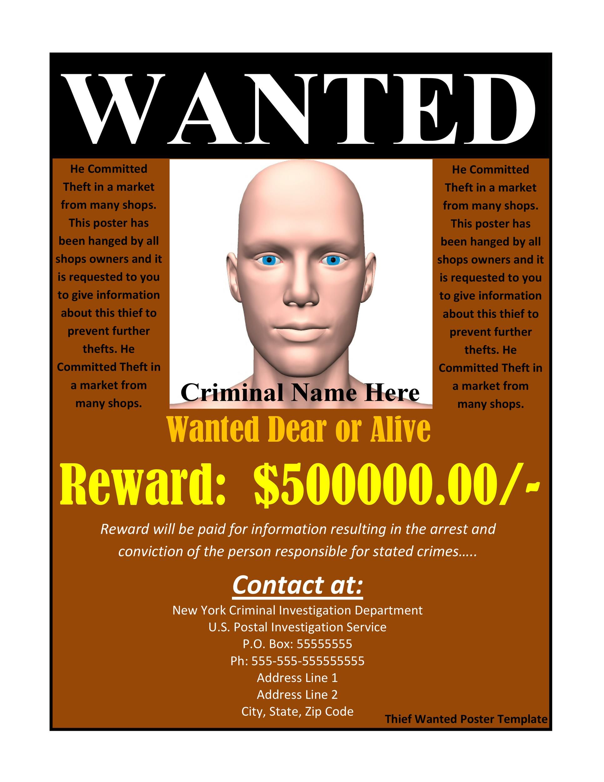 009 Striking Missing Person Poster Template Word High Resolution Full