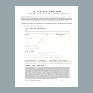 009 Striking Payment Plan Agreement Template Picture  Free320