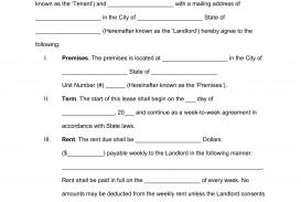 009 Striking Simple Lease Agreement Template High Def  Tenancy Free Download Rent Format In Word India Rental