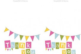 009 Striking Thank You Note Template Pdf Photo  Letter Sample For Donation Of Good