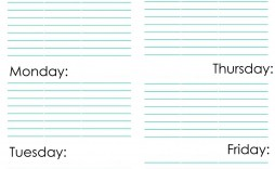 009 Striking Weekly Cleaning Schedule Format Highest Clarity  Template Free Sample