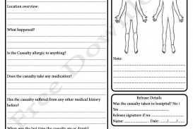 009 Striking Workplace Incident Report Form Template Nsw Idea