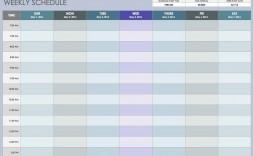 009 Stunning 52 Week Calendar Template Excel Concept  2020 2019 2021