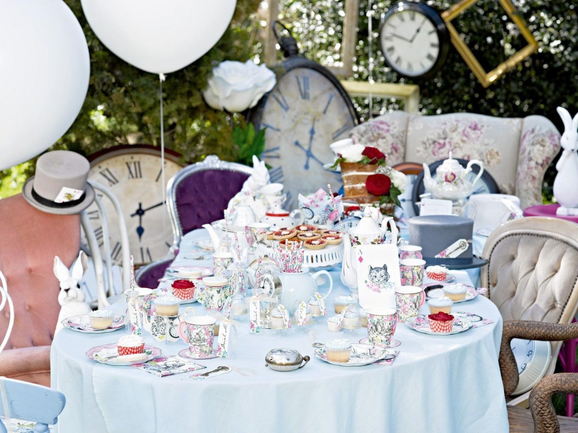 009 Stunning Alice In Wonderland Tea Party Template Highest Clarity  Templates Invitation Free1920