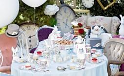009 Stunning Alice In Wonderland Tea Party Template Highest Clarity  Templates Invitation Free