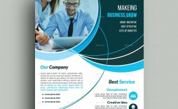 009 Stunning Busines Flyer Template Free Download Sample
