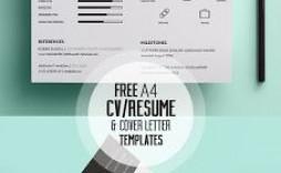 009 Stunning Cv Design Photoshop Template Free Idea  Resume Psd Download