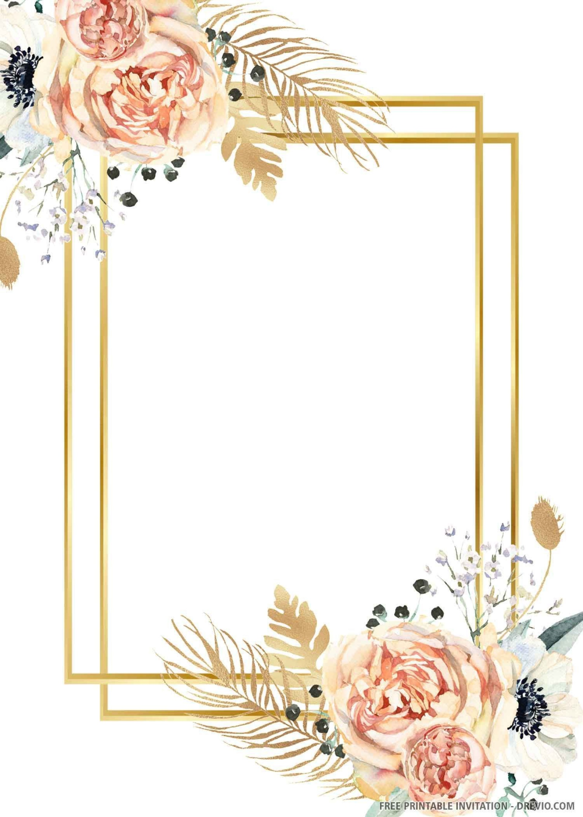 009 Stunning Free Invite Design Printable Example  Wedding Place Card Template Birthday To Print1920