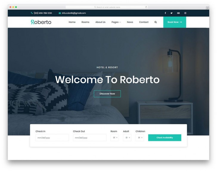 009 Stunning Free Website Template Download Html And Cs Jquery For Hospital High Def 728