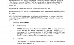 009 Stunning It Service Contract Template Sample  Support Agreement Provider South Africa Managed Example