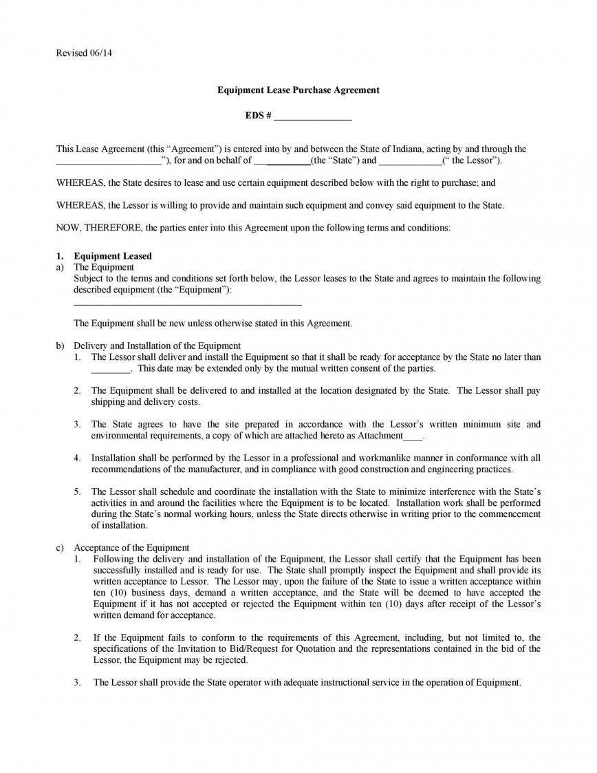 009 Stunning Rent To Own Lease Template Image  Contract Form Pdf