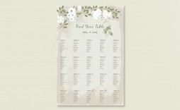 009 Stunning Seating Chart Wedding Template Example  Table Excel Printable Reception Free