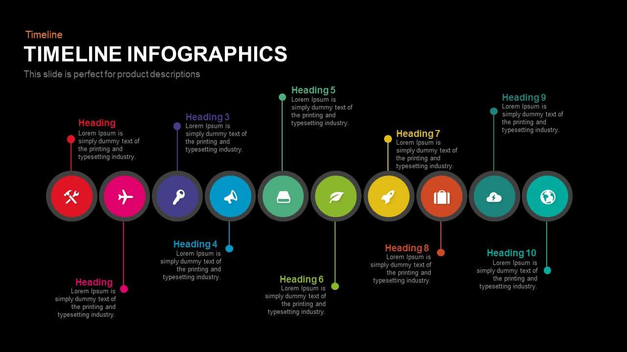 009 Stunning Timeline Infographic Template Powerpoint Download Sample  FreeFull