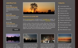 009 Stunning Website Template Html Download Example  Free With Cs Javascript Jquery Bootstrap Simple And