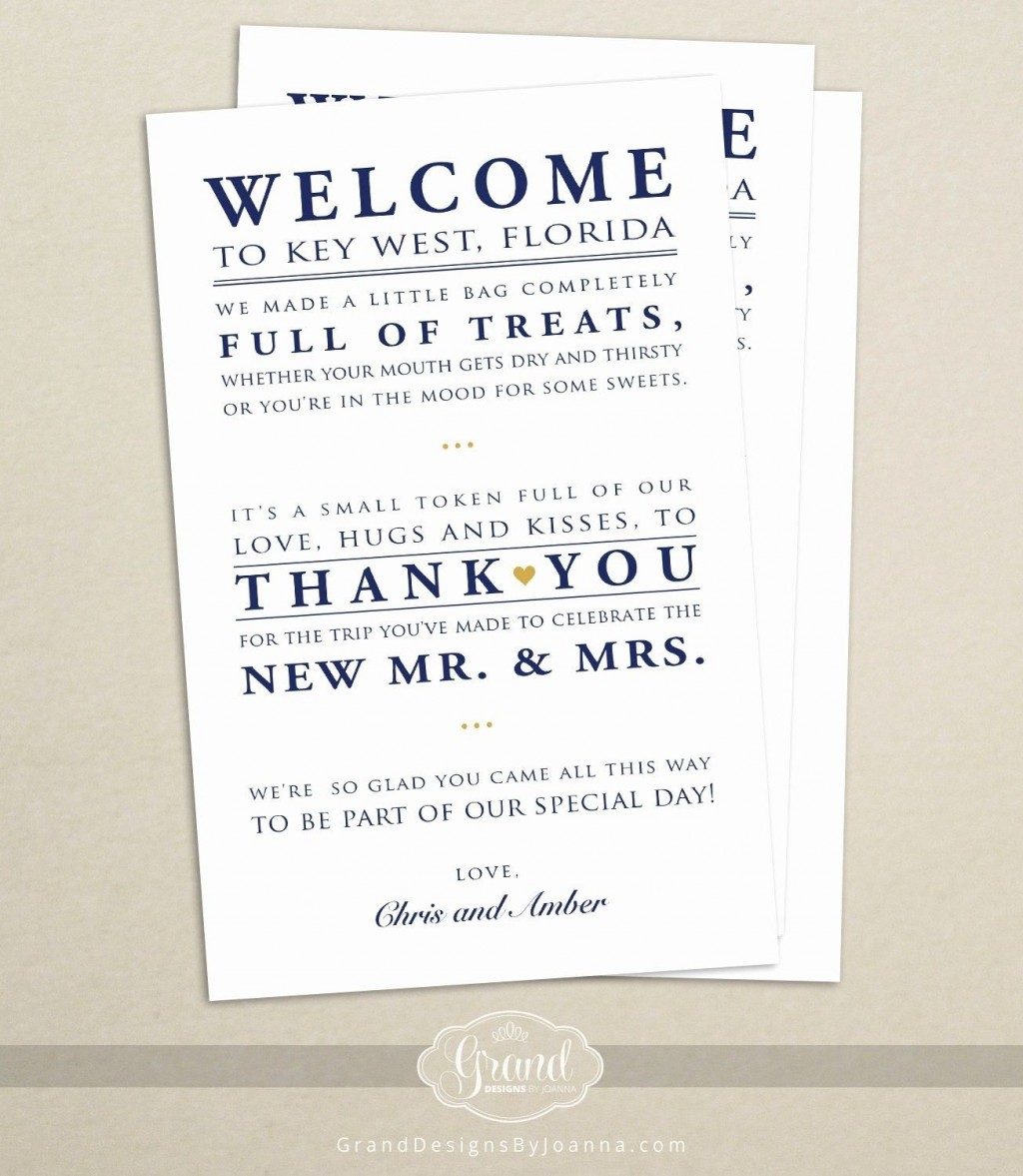 009 Stunning Wedding Guest Welcome Letter Template High Resolution Large
