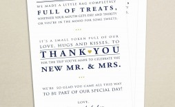 009 Stunning Wedding Guest Welcome Letter Template High Resolution