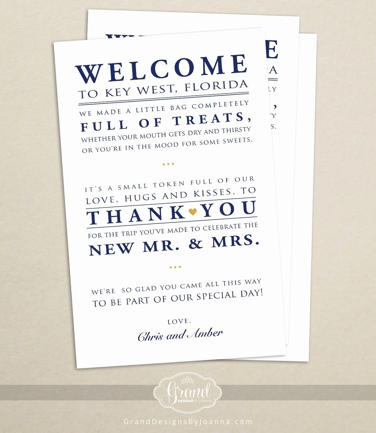 009 Stunning Wedding Guest Welcome Letter Template High Resolution Full