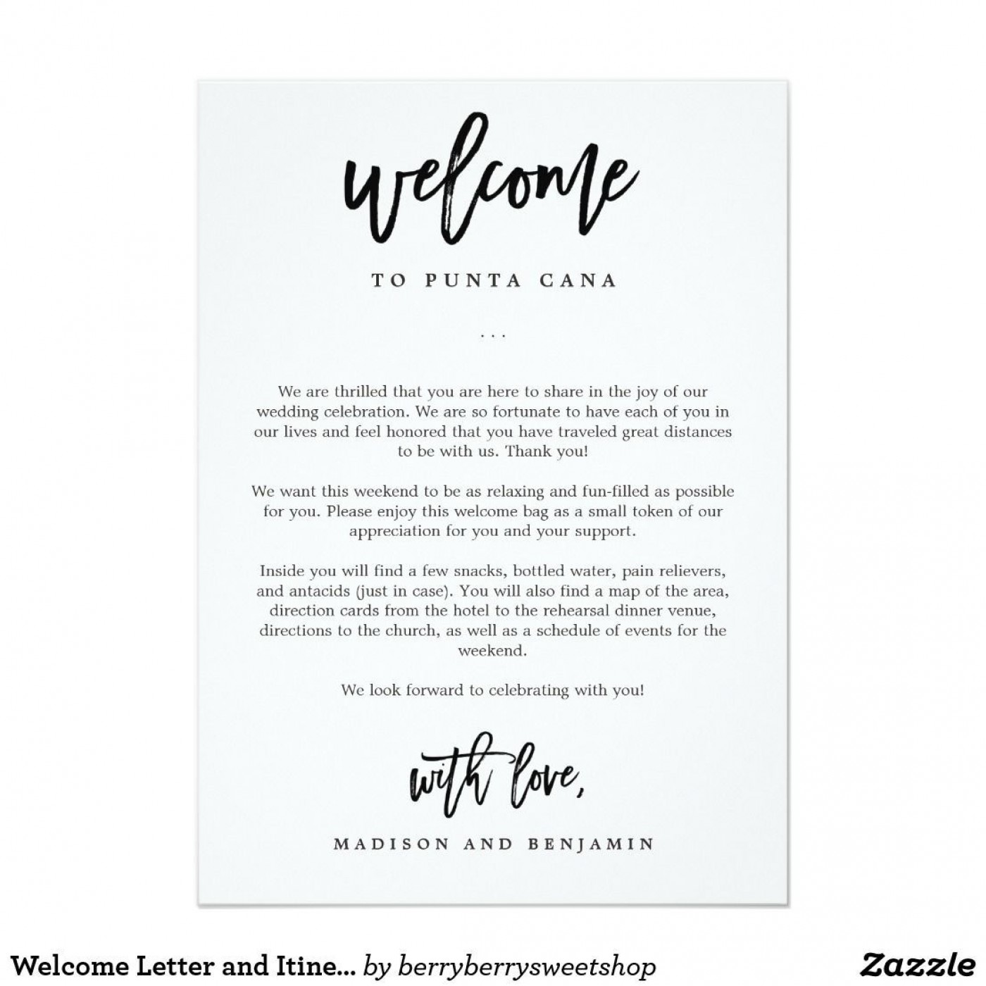 009 Stunning Wedding Hotel Welcome Letter Template Highest Quality 1400