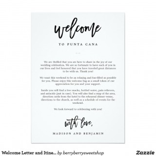009 Stunning Wedding Hotel Welcome Letter Template Highest Quality 320