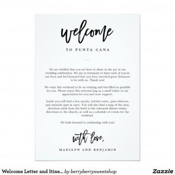 009 Stunning Wedding Hotel Welcome Letter Template Highest Quality 360