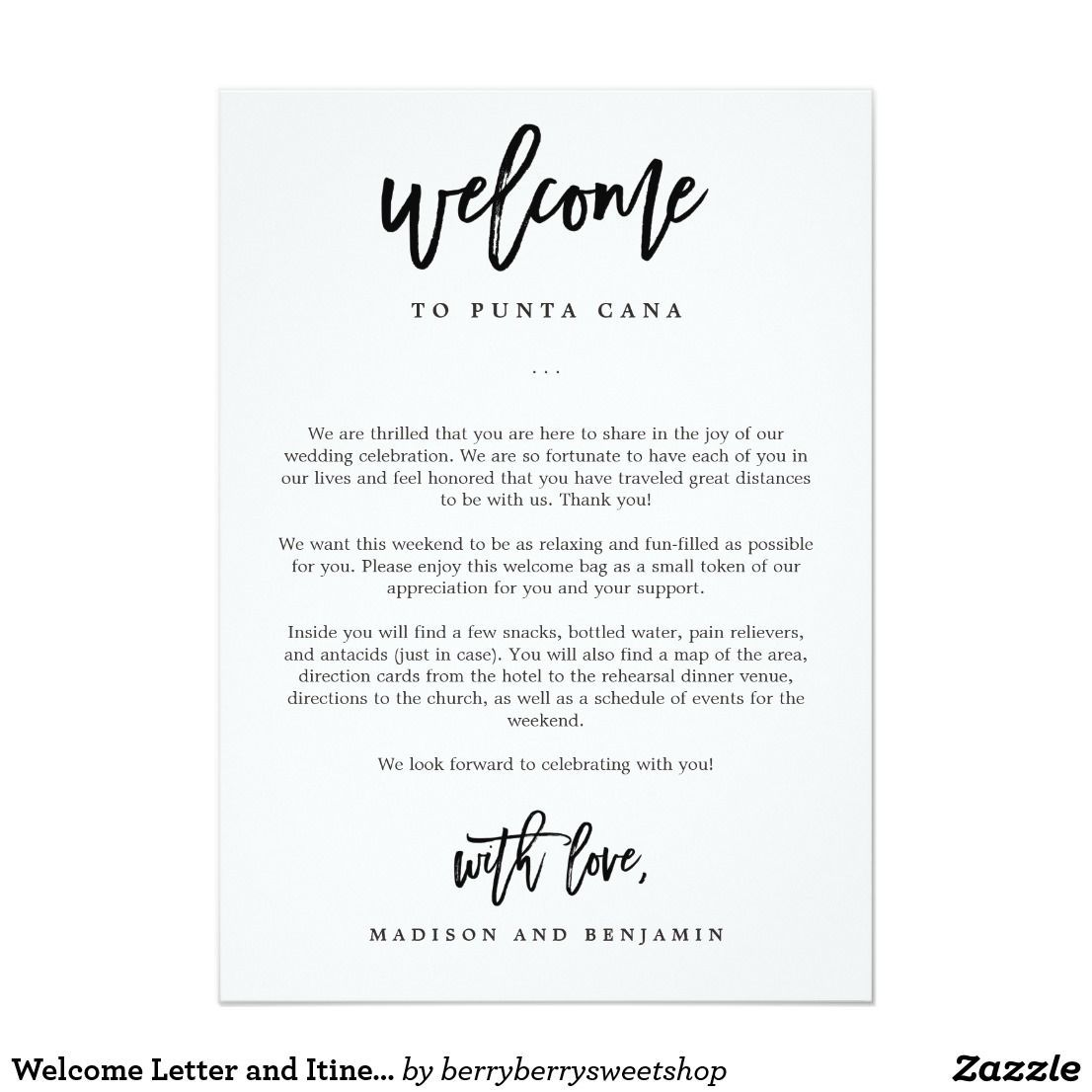 009 Stunning Wedding Hotel Welcome Letter Template Highest Quality Full