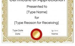 009 Stupendou Certificate Of Appreciation Template Free Design  Microsoft Word Download Publisher Editable