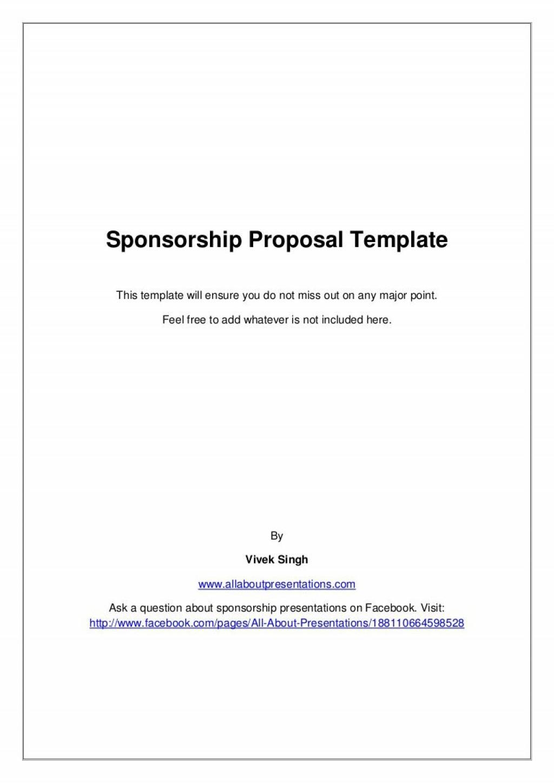009 Stupendou Event Sponsorship Form Template Inspiration  Sponsor RequestLarge