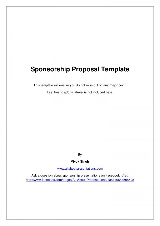 009 Stupendou Event Sponsorship Form Template Inspiration  Sponsor Request1920