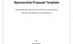 009 Stupendou Event Sponsorship Form Template Inspiration  Sponsor Request