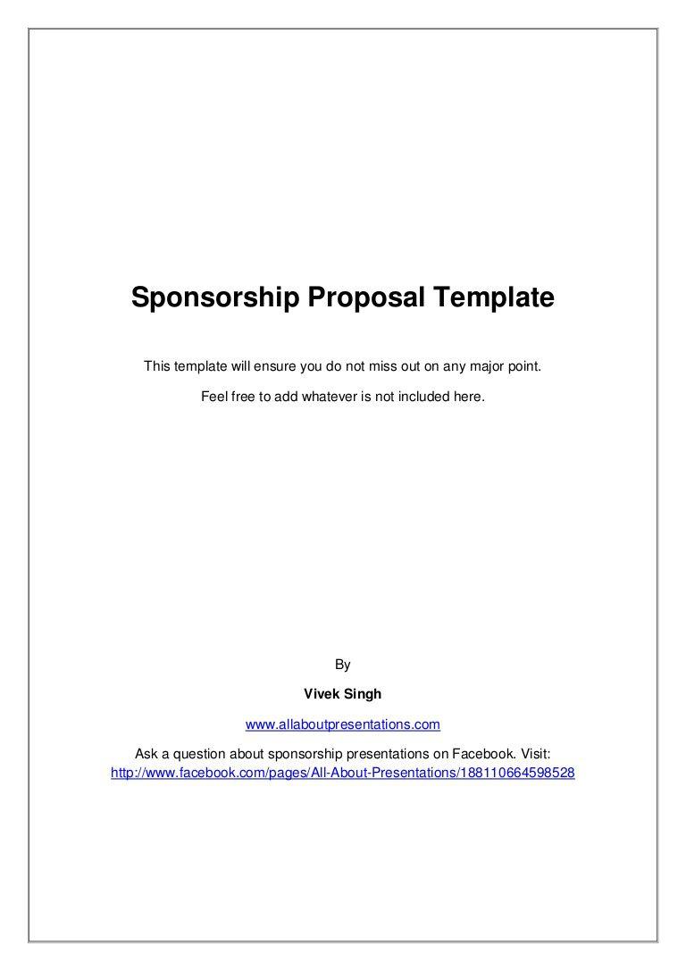 009 Stupendou Event Sponsorship Form Template Inspiration  Sponsor RequestFull