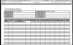 009 Stupendou Expense Report Template Excel High Resolution  Free Format 2010