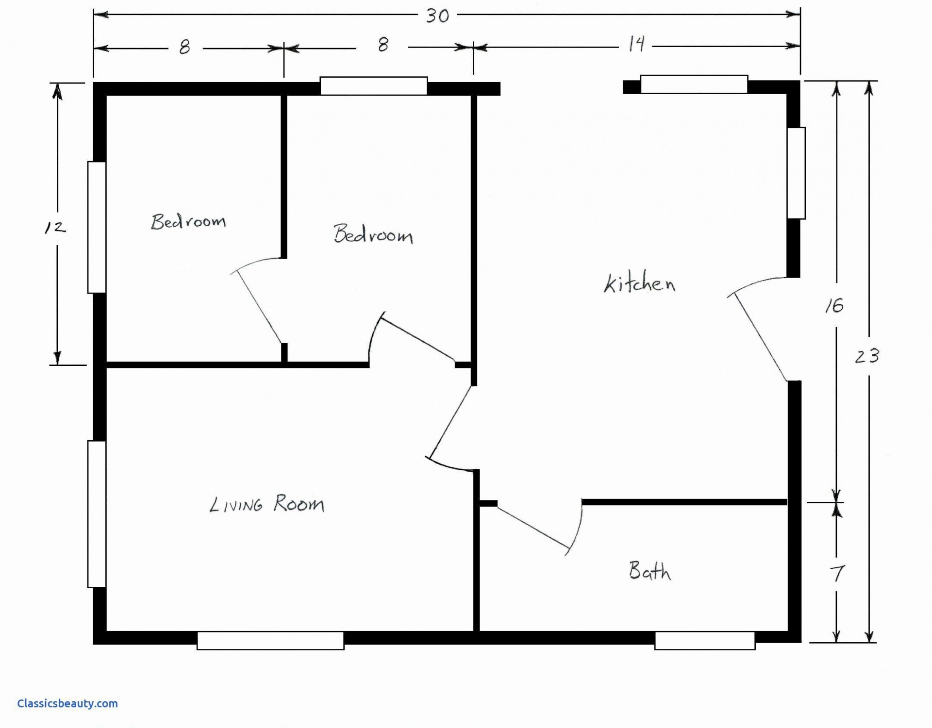 009 Stupendou Free Floor Plan Template High Resolution  Excel Home House Sample1920