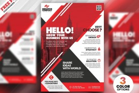 009 Stupendou Free Flyer Design Template Photo  Download Psd Simple Uk