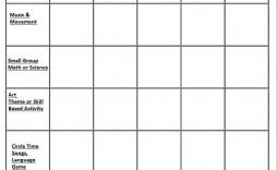 009 Stupendou Free Printable Lesson Plan Template Blank Design  Format