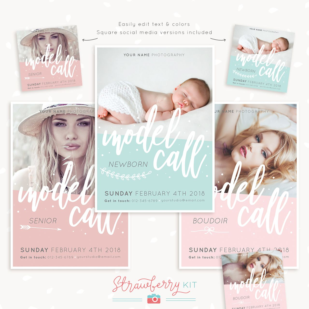 009 Stupendou Free Senior Template For Photoshop High Def  CollageFull
